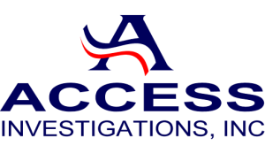 Access Investigations, Inc. Retina Logo